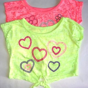 Other - ‼️ Pink and Yellow (Set of 2) girl Tops